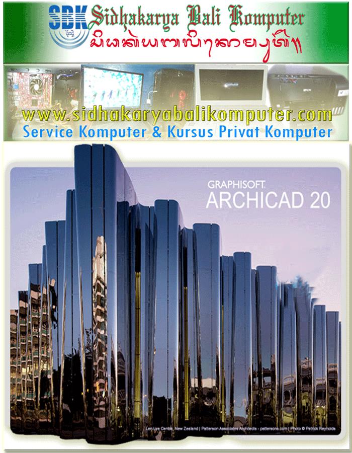Kursus Rancangan Bagunan 3D Archicad